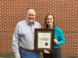 North Carolina Sea Grant Extension Director Honored