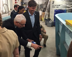 Maryland Sea Grant and partners discuss aquaculture, diversity in marine sciences with NOAA Administrator