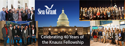 Sea Grant Announces 2019 Finalists for Knauss Fellowship Program