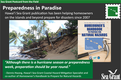Sea Grant Postcard from the Field: Preparedness in Paradise