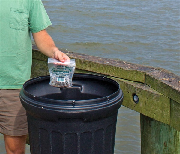 Campaign Warns Anglers that Live Bait Worm Trade Carries Invasive Species