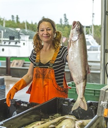 National Seafood Month: Spotlight on Wisconsin Fisher Jessica Resac