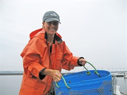 National Seafood Month: Spotlight on Connecticut Sea Grant Extension Agent Tessa Getchis