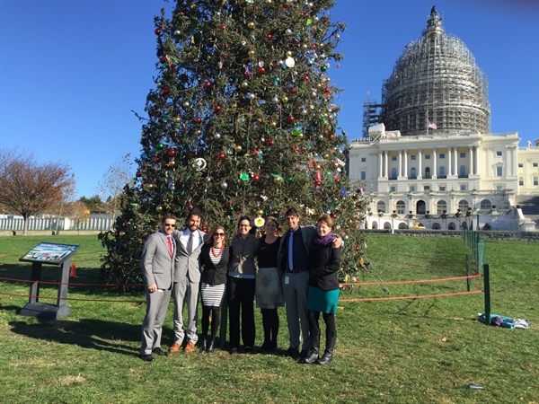 Sea Grant's Knauss Fellows - Legislative Fellows Take on Capitol Hill