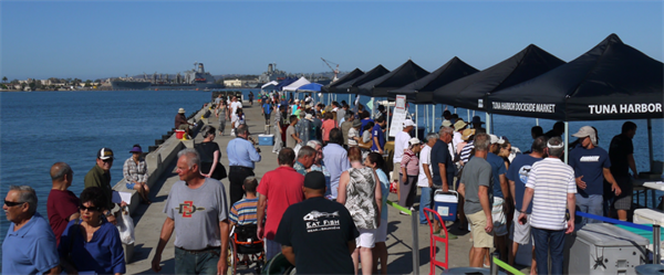 California Sea Grant Research Informs New Law to Permit Fishermen's Markets