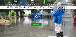 Georgia Sea Grant Uses New Smartphone App to Map King Tide Flood