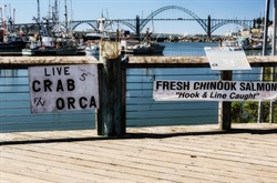 Coastal Tourism: Shop the Dock in Oregon