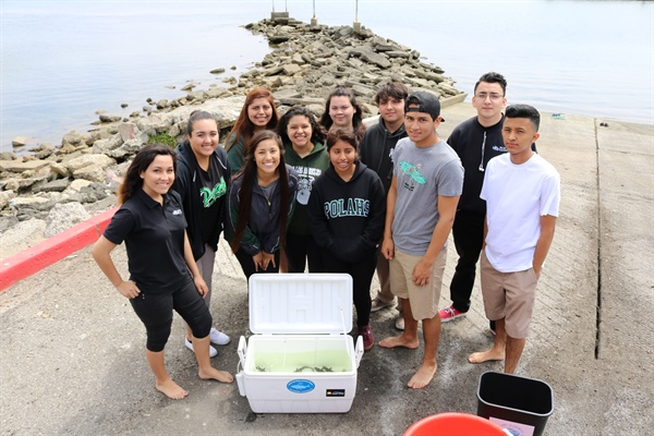 Food for thought: classroom aquaponics program provides valuable experience for students in Los Angeles