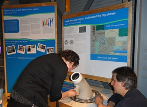 The Lake Superior Diatom display