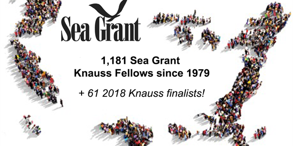 Sea Grant announces the 2018 Knauss Fellowship finalists