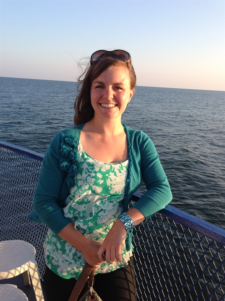 Spotlight on Illinois-Indiana Sea Grant's Extension Agent: Caitie McCoy