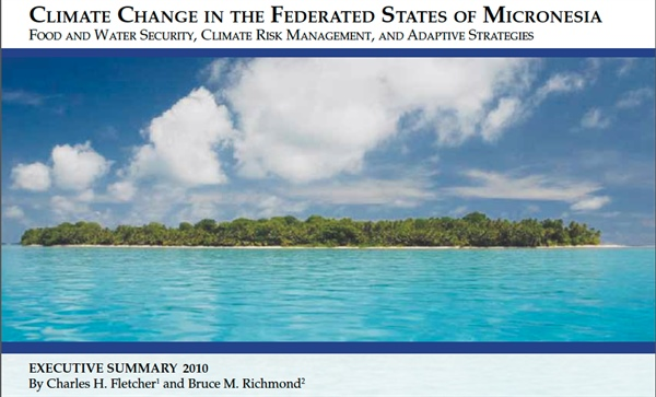Climate Change in the Federated States of Micronesia