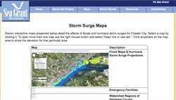 Chester City Interactive Inundation Maps