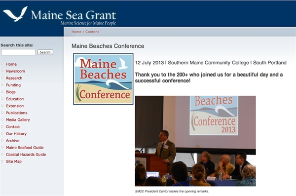 Maine Beaches Conference