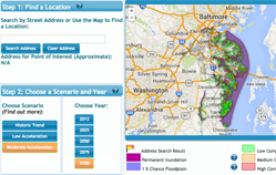 FutureCoast Sea Level Rise Web-Based Tool