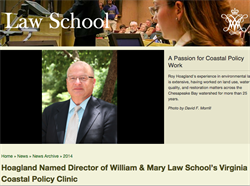 Virginia Coastal Policy Clinic, William & Mary Law School