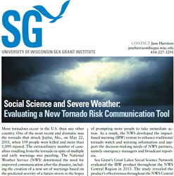 Social Science and Severe Weather: Evaluating a New Tornado Risk Communication Tool