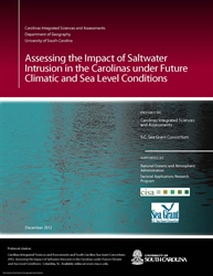 Climate and Salinity Intrusion Decision Support Tools Developed for the Yadkin-Pee Dee River Basin