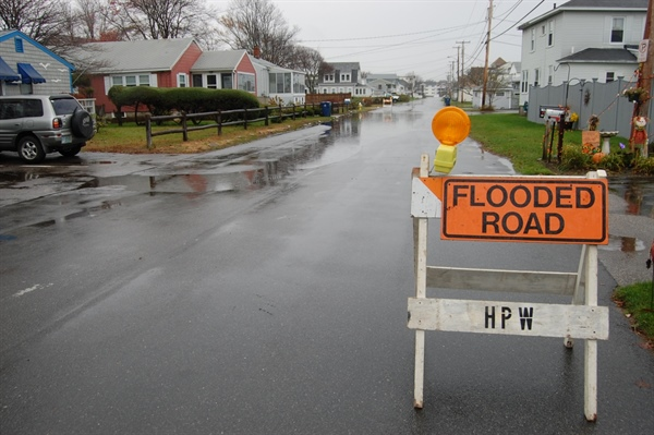 NH Sea Grant-funded researchers identify roads under new threat from rising sea levels