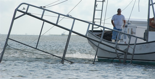 Sea Grant Helps Louisiana Shrimpers Compete in Global Markets