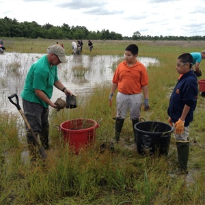 Texas Sea Grant Master Naturalist volunteers contribute 83,000 hours worth $2 million to informal education, restoration projects