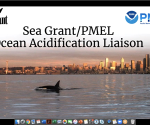 Webinar with the Pacific Marine Environmental Lab Sea Grant Ocean Acidification Liaison