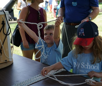 Volunteer Educators Teach 80,000 Visitors, Saving $84,840 in Services for New Hampshire's Marine Education Centers