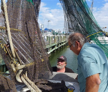 Louisiana Sea Grant Co-hosted Turtle Excluder Devices Compliance Workshops, Saved Commercial Fishermen $120,000 in Potential Fines