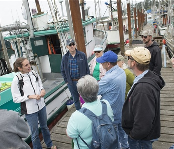 "Oregon Sea Grant's ""Shop on the Dock"" Connected Seafood Buyers with Fishermen"
